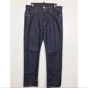 7 for All Mankind Slimmy Jeans - Blue Dark Wash